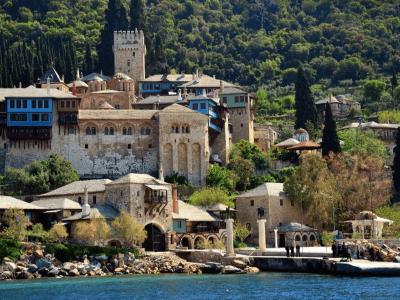 Атонски манастири