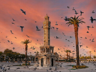Измир- часовниковата кула
